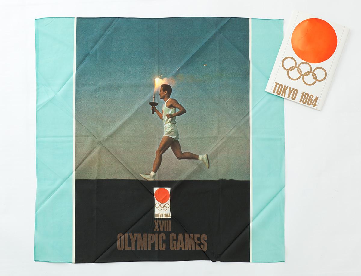 東京オリンピック1964風呂敷