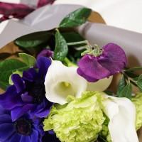 アトリエ凛花さん きもの姿に合う大人の和の花束