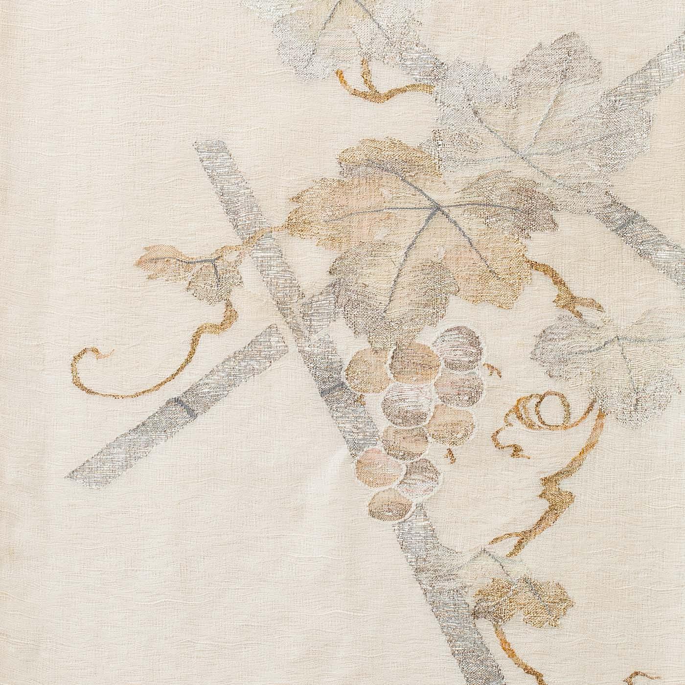 すくい織 夏洒落袋帯
