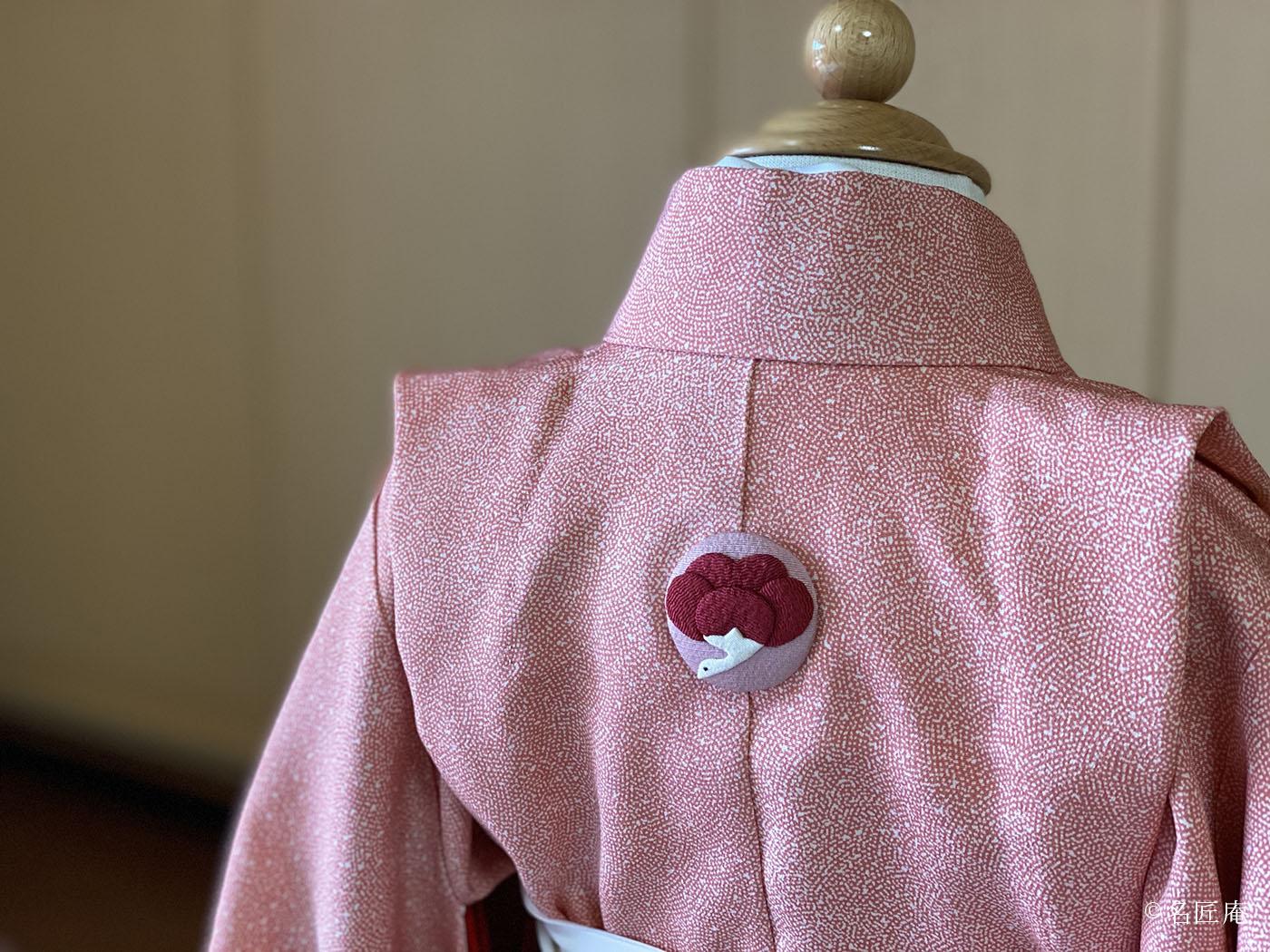 加賀の「背守り押し絵紋」を 金沢のえり華さん